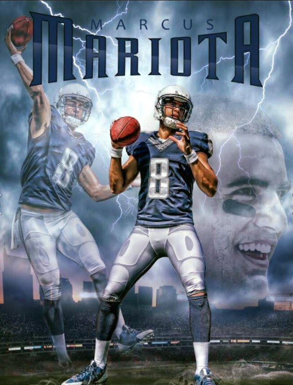 Marcus Mariota on Sports Illustrated Cover for 5th time